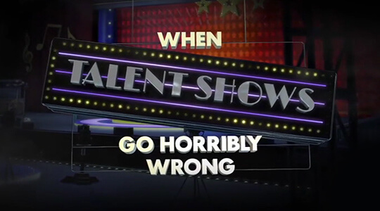 When Talent Shows Go Horribly Wrong